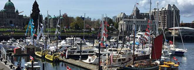 The Victoria Inner Harbour Boat Show 2017