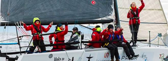 Team Sail like a Girl wins the R2AK: 6 Days, 13 hours and 17 minutes!