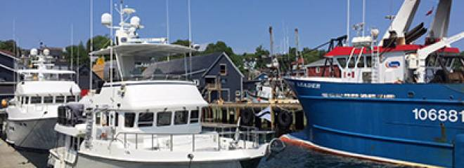 Lunenburg attracting spectacular visiting yachts