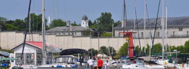 Heritage and hip: Kingston as a port destination