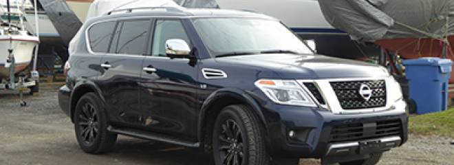 Test of the 2020 Nissan Armada