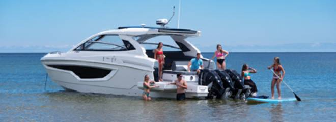 Cruisers Yachts Raises the Bar for Day Boating