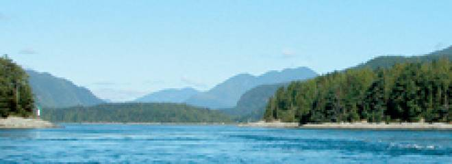 BC Tidal Passes: Passes Beyond Desolation Sound