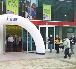 Vancouver Boat Show 2013 - Entrance